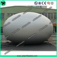 China Customized Decoration Colorful Inflatable Silver Egg Easter Festival Decoration with Print wholesale