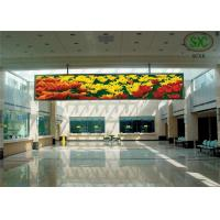 China Advertising P6 Indoor Full Color LED Display Unit With Flight Case wholesale