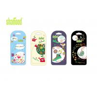 China Nature Nice Smell Paper Air Freshener , Eco Friendly Auto Air Freshener wholesale
