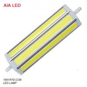 China LED-R7S-8030 AC85-265V IP20 15W COB R7S LED Lamp/ LED bulb for IP65 waterproof led flood light wholesale