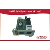 China SNMP Card and AS400 Card for UPS,Apply to remote monitoring UPS in network wholesale