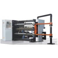 China Compact Paper Slitters And Rewinders , Plastic Film Slitting Machine Magnetic Powder Brake on sale