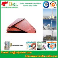 China Power Plant Oil Fired Boiler Water Walls Once Through High Heating Efficiency wholesale
