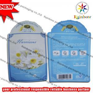 China Colorful Printing Herbal Incense Packaging , Moisture Proof Ziplock Bags wholesale