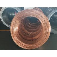 China Cold Drawing Single Wall Coated Copper Steel Bundy Tube To Protect Rust  4.76 mm  X 0.7 mm wholesale