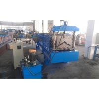 China Hydraulic Metal Roofing Machines , Gutter Making Machine Wall Board Structure wholesale