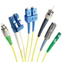 Buy cheap SM/MM SC/APC LC FC ST MU DIN Optical Fiber Patch Cord from wholesalers