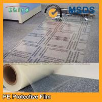 China Self Adhesive Carpet Protector Film , Transparent Plastic Carpet Film Protector wholesale