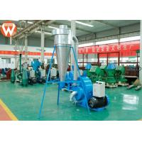 China Corn Animal Feed Crusher Stainless Steel Hammer Mill Grinding With Cyclone wholesale