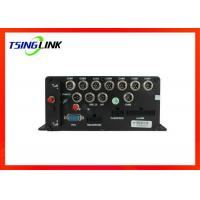 China 8 Channel 1080p Vehicle Mobile Dvr Wireless Wide Voltage With Gps Tracking wholesale