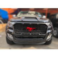 China High Durability Front Grill Mesh With LED For  Ranger PX2 2015 - 2017 wholesale