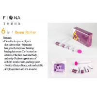 Buy cheap Newest ! 6 in 1 derma roller 12/300/720/1200 needles titanium micro needle from wholesalers