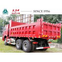 China Heavy Duty Sinotruk HOWO Dump Truck  6X4 With Manual Transmission For Sale wholesale
