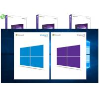 China OEM Software Microsoft Windows 10 Pro Pack 64 Bit Retail Box Genuine Key wholesale