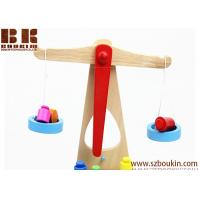 China 2018 New Wooden Early Educational Intelligence Balance Scales Wood Toy for Kids on sale