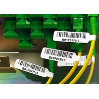 China Strong Adhesive Plastic Cable Labels Vinyl Cable Tags With Electric Wire Label wholesale