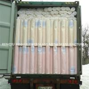 China xinhui woven fiber reinforced concrete mosaic fiberglass cloth in roll for insulation on sale