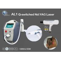 China Tattoo Removal Q-Switched Nd Yag Laser Machine 532nm 1064nm Non Surgical wholesale