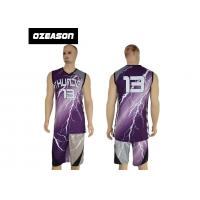 China Hotsale Sublimated Custom Logo Quick Dry Basketball Jersey For Sale wholesale