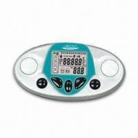 Buy cheap Body Fat Analyzer with Pedometer Function, Made of ABS Material from wholesalers