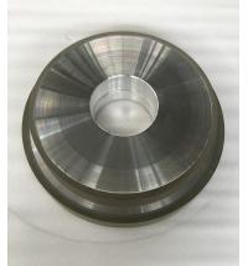 Abrasive Grit Resin Bonded Diamond Grinding Wheels Flat CBN Hole 127mm Width 10mm