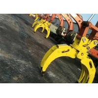 China Wood Grapple / Stone Grapple Backhoe Grapple Attachments For Structure Demolition wholesale