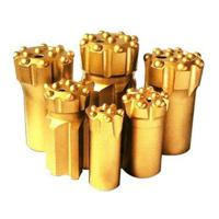 China Button bits T38-76 golden color drilling for marble and granite stone wholesale