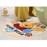 China Waterproof Anti - skidding Custom Shape Pet Play Mat Polyester For Cats / Dogs on sale