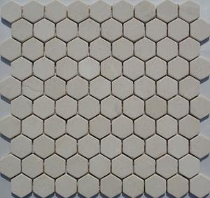 China Wood White Marble Mosaic,Beige Marble Mosaic,White Marble Mosaic ,White Marble Mosaic wholesale