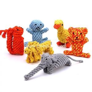 China wholesale China cotton rope dog toy animal wholesale