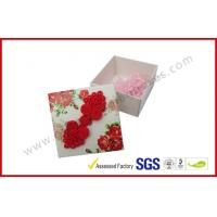 Quality Personalized Wedding Paper Gift Packaging Boxes Rectangle for Festival for sale