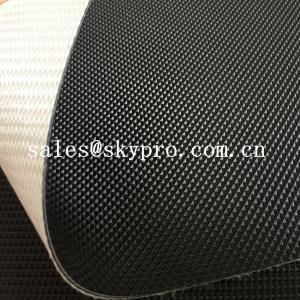 China Fitness Treadmill PVC Conveyor Belt High Performance Industrial Golf Pattern Surface wholesale