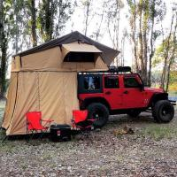 China Customized Truck Pop Up Roof Top Tent Streamlined Design For Family wholesale