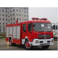Diesel Type Special Purpose Trucks / Fire Fighting Truck For Fire Rescue