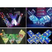 China Gorgeous Various Shape Dj Booth LED Screen Adjustable Brightness Full Color wholesale