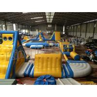 China Giant Inflatable Water Parks , Inflatable Aqua Park Equipment  For Adults And Kids wholesale
