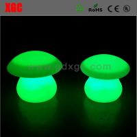 China Mushroom Shape PE Material Outdoor Garden Decorative Lights wholesale