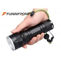 China 5 Modes Outdoor Hike Zoom Led Flashlight With 300 Meters Lighting Distance wholesale
