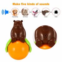4.2v Cute Pet Toys Sound And Light Ball Lr44 Battery Five Kinds Of Sounds