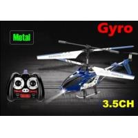 China wholesale promotion 3.5 channel metal rc helicopter + gyro rc toy toy children toys wholesale
