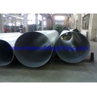 Buy cheap Plain End 20ft Large Diameter Stainless Steel Pipe Seamless SS Tubing from wholesalers