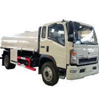 China HOT SALE! HOWO 4*2 LHD/RHD 10,000Liters stainless steel material portable water tanker truck, cistern tanker truck on sale