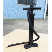 China 2.0 Bar Stand Up Paddle Accessories High Pressure Hand Air Pump Black Color on sale