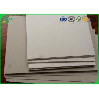 China A1 size 1.0mm 1.5mm 2.0mm thick grey cardboard for book binding wholesale