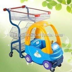 China plastic children trolley wholesale