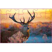 China Promotion 3D Lenticular Printing Jigsaw Puzzles/ Custom 3D Lenticular PET Puzzles wholesale