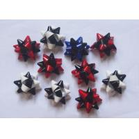 """Quality Multi material and colors gift decoration star bow christmas decoration 2"""" - 4"""" for sale"""