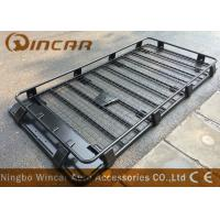 China Car Roof Rack Heavy Duty Black Cargo Luggage rack with light & spare wheel bracket wholesale