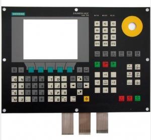 China PC SIEMENS Custom Membrane Keypad With LED Light and Display Window Screen 100MΩ on sale