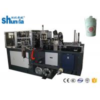 China CE Certificated Paper Noodle Box Doner Box Making Machine With Hot Air / Ultrasonic Device on sale